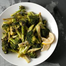 Roasted Broccoli Bagna Cauda