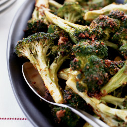 Roasted Broccoli with Ancho Butter