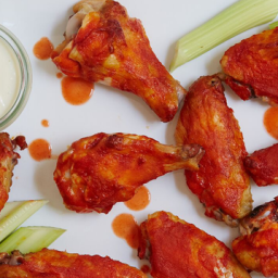 Roasted Buffalo Chicken Wings
