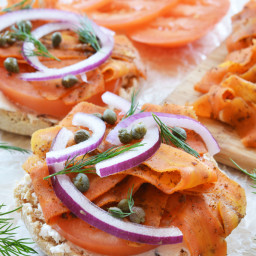 Roasted Carrot Lox