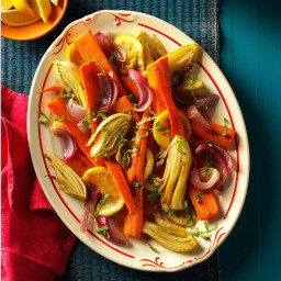 Roasted Carrots and Fennel Recipe