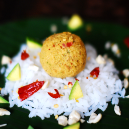 Roasted Cashew and Coconut Chammanthi