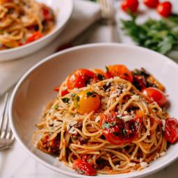 Roasted Cherry Tomato Puttanesca