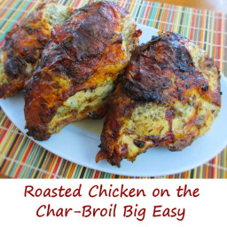 Roasted Chicken on the Big Easy