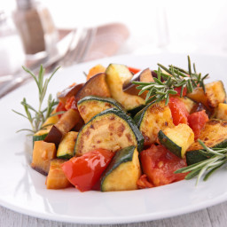 Roasted Eggplant Ratatouille