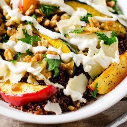Roasted Fruit and Vegetable Quinoa Salad
