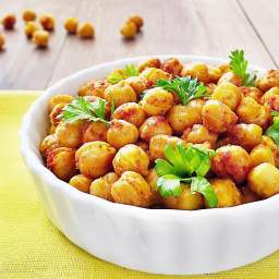 Roasted Garbanzo Beans with Spices