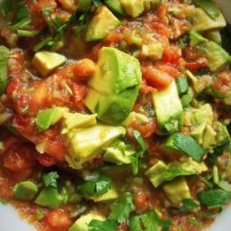 Roasted Garlic Tomato Salsa