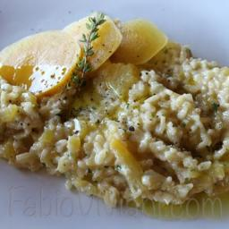 Roasted Golden Beet Risotto