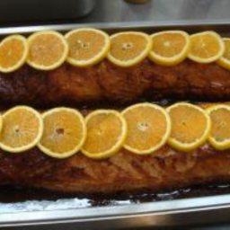 Roasted Honey Orange Pork Loin