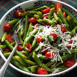 Roasted Italian Green Beans and Tomatoes Recipe