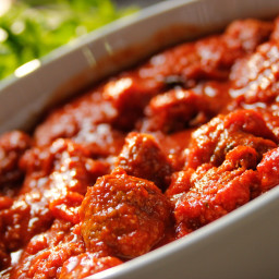 Roasted Italian Meatballs