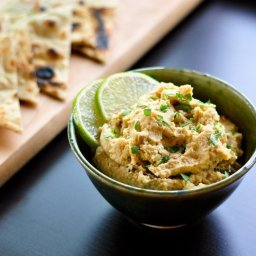 Roasted Jalapeño and Lime Hummus