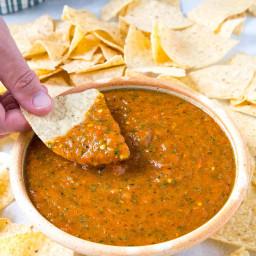 Roasted Mango-Habanero Salsa Recipe
