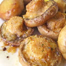 Roasted Mushrooms with Garlic and Thyme