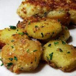 Roasted Parmesan Garlic Potatoes