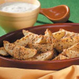 Roasted Parmesan Potato Wedges Recipe