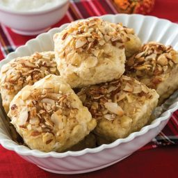 Roasted Pear, Cardamom and Almond Scones