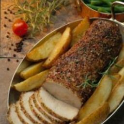 Roasted Peppered Pork Loin