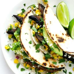 Roasted Portobello Tacos