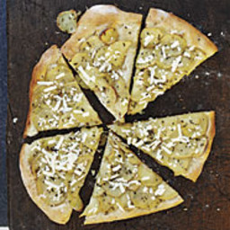 Roasted Potato and Rosemary Pizza