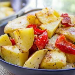 Roasted Potato Salad with Dijon Vinaigrette