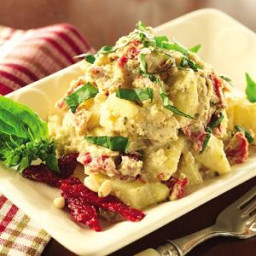 Roasted Potato Salad with Sun-Dried Tomatoes