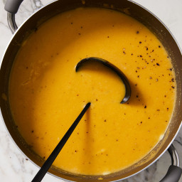 Roasted Pumpkin Soup Warms Up Any Winter Night