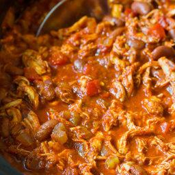 Roasted Red Pepper Chicken Chili Recipe