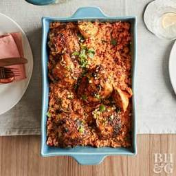 Roasted Red Pepper Rice