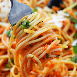 Roasted Red Pepper Sauce Pasta