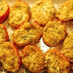 Roasted Ricotta Roma Tomatoes