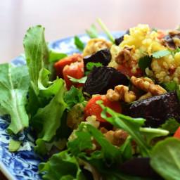 Roasted Root Vegetable Quinoa Salad