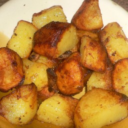 Roasted Rosemary Potatoes with Garlic