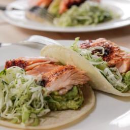 Roasted Salmon Tacos