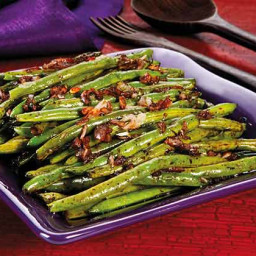 Roasted Shallot Green Beans