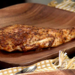 Roasted Spicy Mayonnaise Chicken Breasts