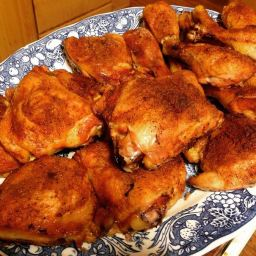 Roasted Sticky Chicken Legs