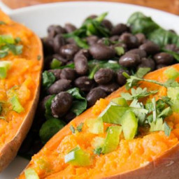 Roasted Sweet Potato & Black Bean Salad