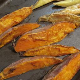 Roasted Sweet Potato Wedges