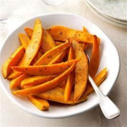 Roasted Sweet Potatoes with Dijon and Rosemary Recipe