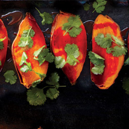Roasted Sweet Potatoes with Smoked Paprika-Honey Butter