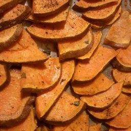 Roasted Sweet Pototes