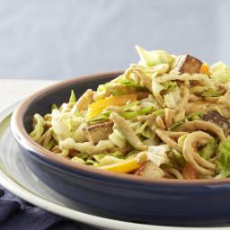 Roasted Tofu and Peanut Noodle Salad