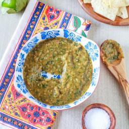 Roasted Tomatillo Salsa Verde