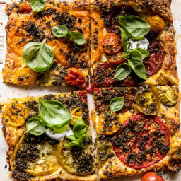Roasted Tomato Cheddar Tart with Ranch Seasoning