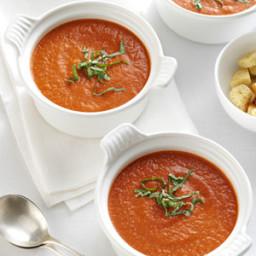 Roasted Tomato Soup with Fresh Basil Recipe