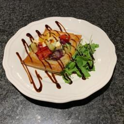 Roasted Vegetable & Feta Tart(starter)