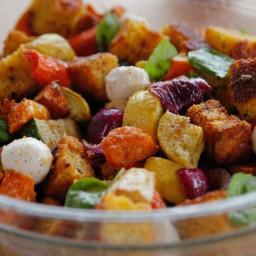 Roasted Vegetable Panzanella
