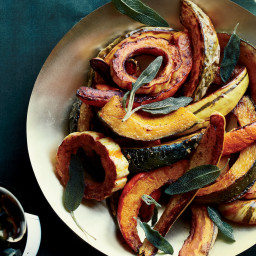Roasted Winter Squash with Vanilla Butter
